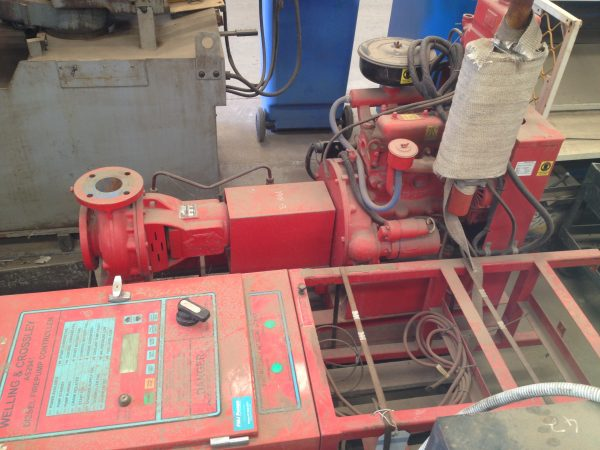 FOR SALE SECOND HAND FIRE PUMP