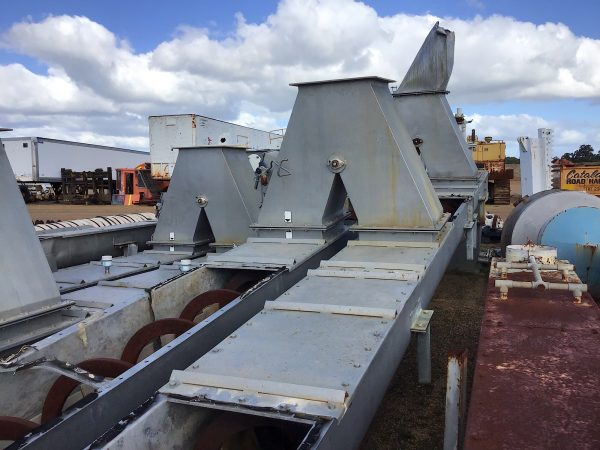 DOUBLE SPIRAC CONVEYOR FEEDER AUGERS