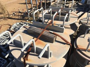 GALVANISED CABLE LAYING REELS