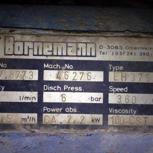 BORNEMANN EH 375 PUMP FOR SALE