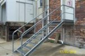 Structures Galvanised Stairs