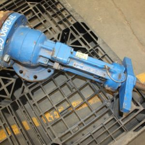 LUNKENHEIMER Tyco F604 Bayonet slurry valve for sale
