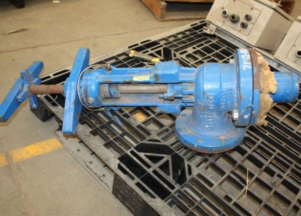 LUNKENHEIMER Tyco F604 Bayonet slurry valve for sale