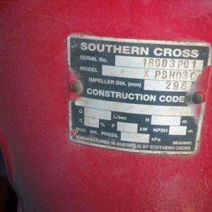 FOR SALE FIRE PUMP