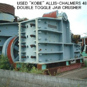 KOBE ALLIS CHALMERS 18 X 42″ JAW CRUSHER FOR SALE